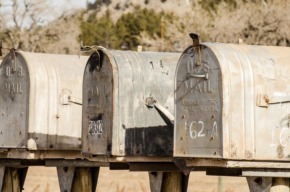 Montage brevlådor (ej våra)